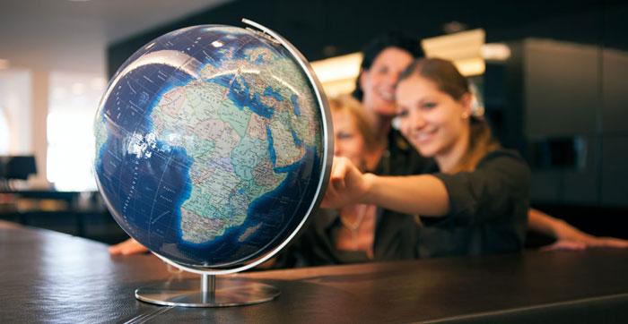 Blue Ocean World Globe