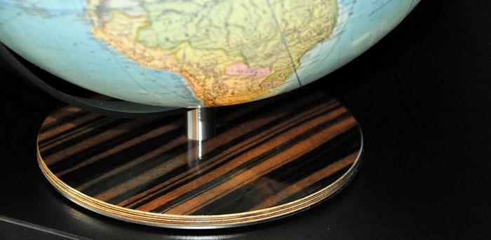 Desktop World Globe Base